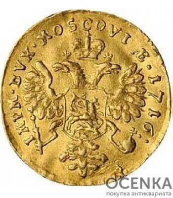 1 червонец 1716 года Петр 1