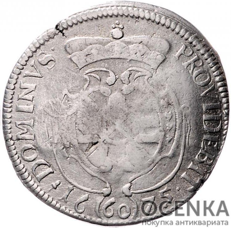 Серебряная монета Гульден Средневековой Германии - 6