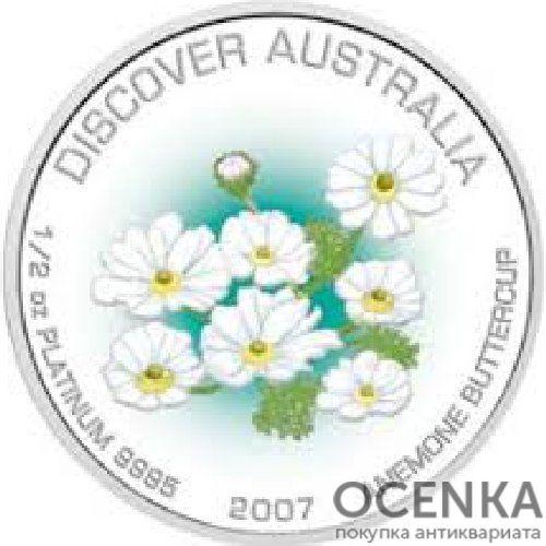 Платиновая монета 50 долларов Австралии - 3