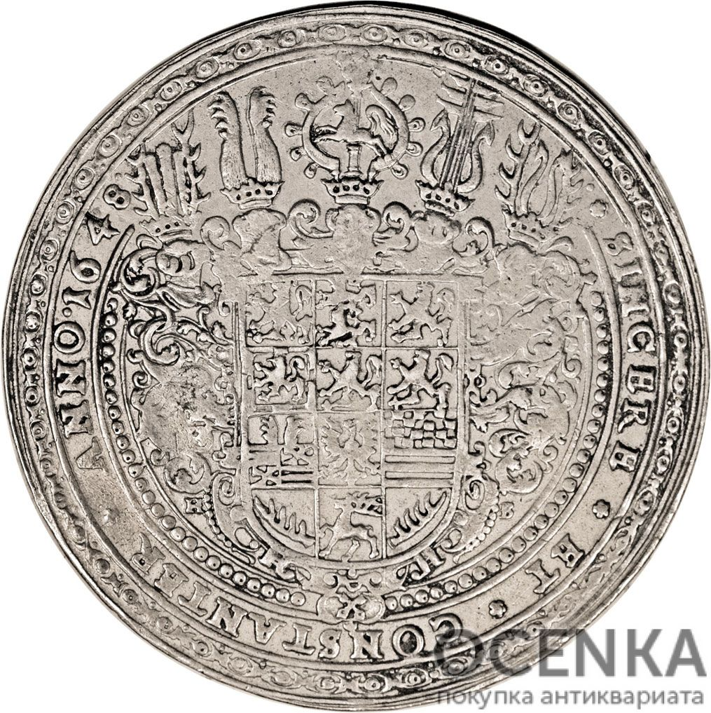Серебряная монета 3 Талера (3 Thaler) Германия
