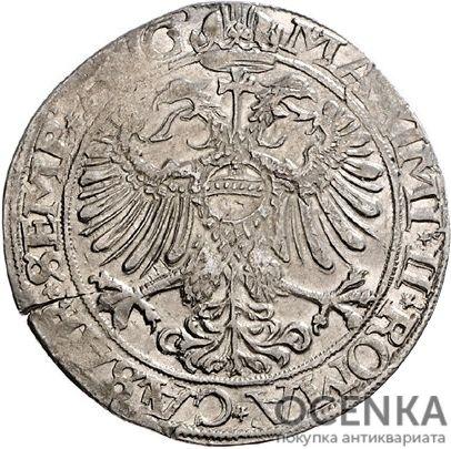 Серебряная монета Талер Средневековой Германии