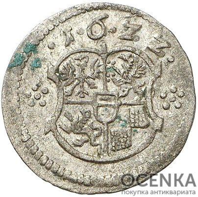 Серебряная монета 3 Пфеннига (3 Pfennig) Германия - 7