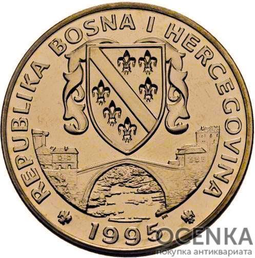 Золотая монета 1 Суверен (1 Suveren) Босния и Герцеговина - 1