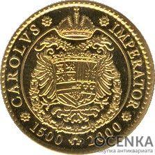 Золотая монета 5000 Песет (5000 Pesetas) Испания - 5