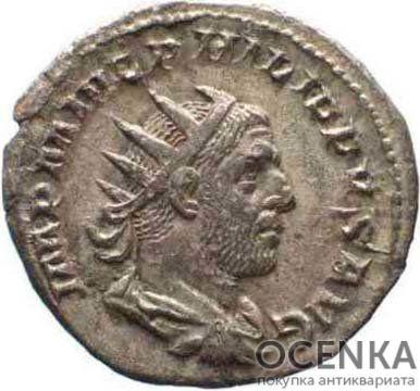 Серебряный Антониниан Цезаря Марка Юлия Филиппа Августа, 244-249 год