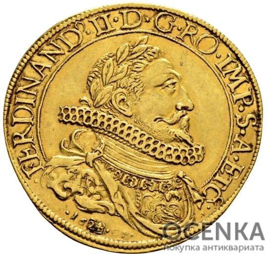 Золотая монета 3 Дуката (3 Ducats) Франция - 1
