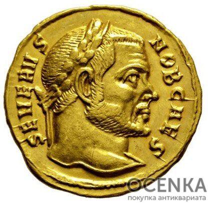 Золотой ауреус, Цезарь Флавий Валерий Север Август, 306-307 год