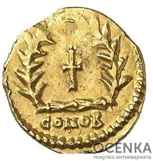 Золотой солид, Флавий Аниций Олибрий, 472 год - 1