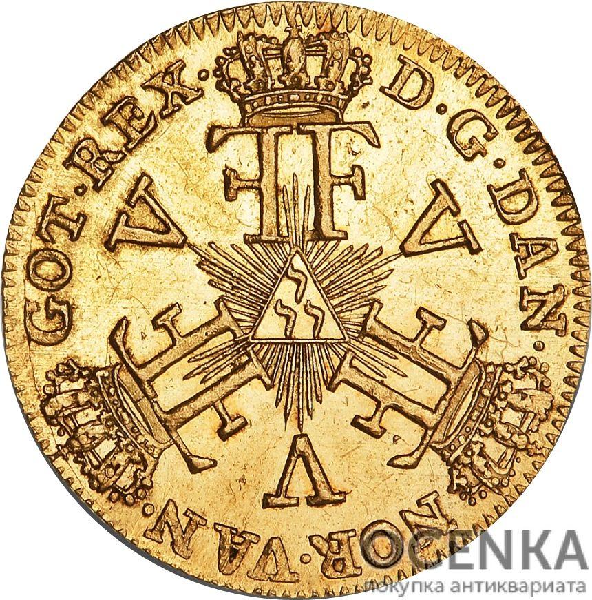 Золотая монета 12 Марок (12 Mark) Дания - 2
