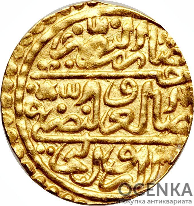 Золотая монета 1 Султани (1 Sultani) Египет