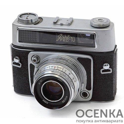 Фотоаппарат ФЭД-10 1964-1967 год