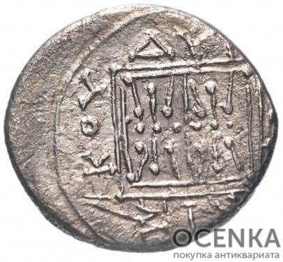 Серебряная монета Дархма Древней Греции - 6
