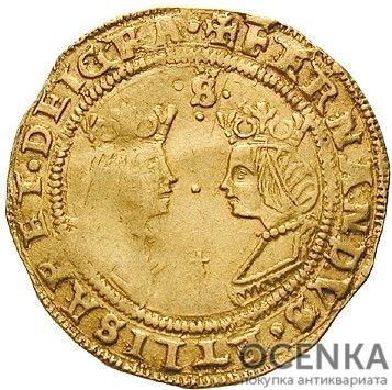 Золотая монета 2 Экскеленца (2 Excelentes) Испания
