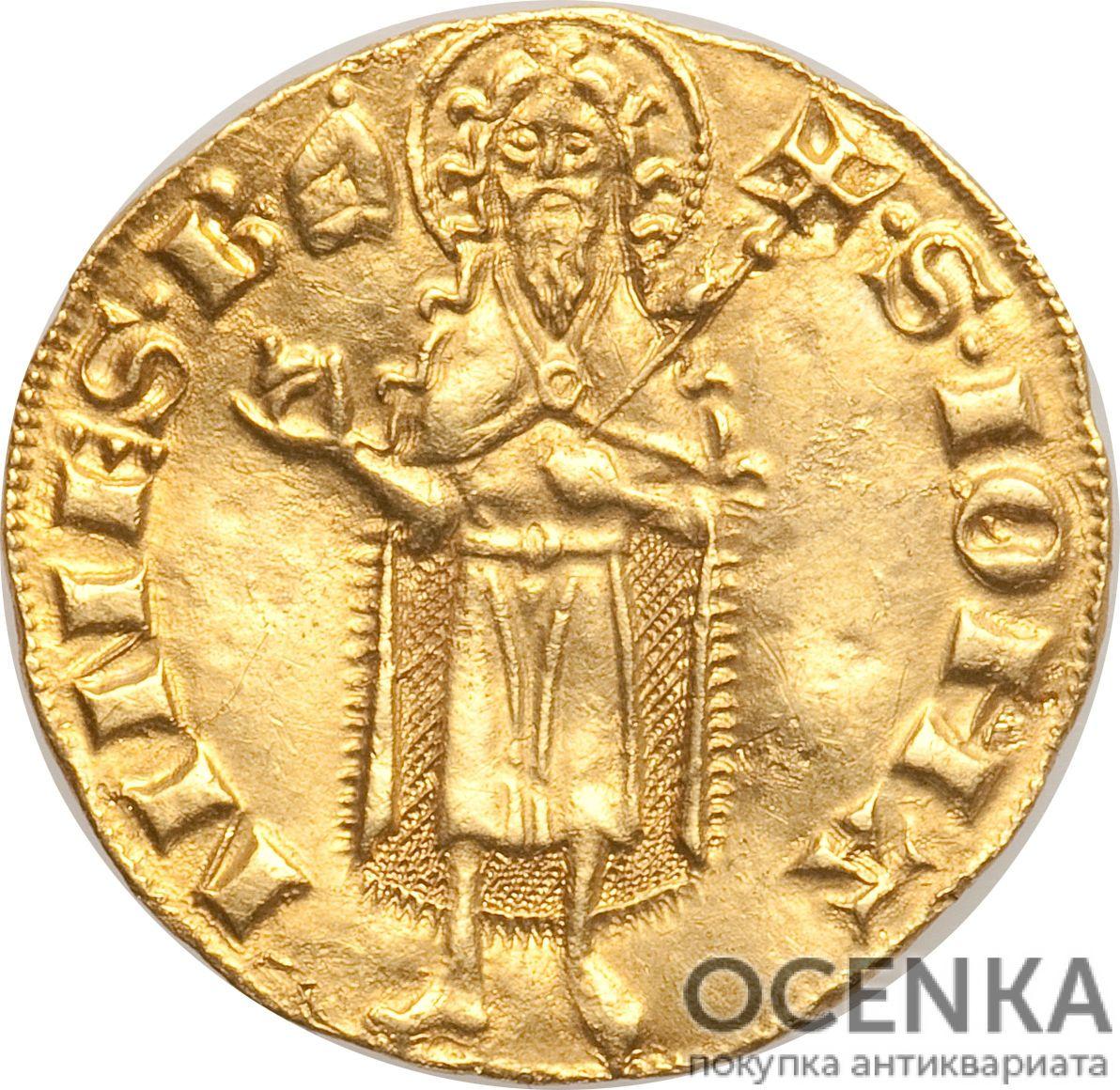 Золотая монета 1 Флорин(1 Florin) Франция - 3
