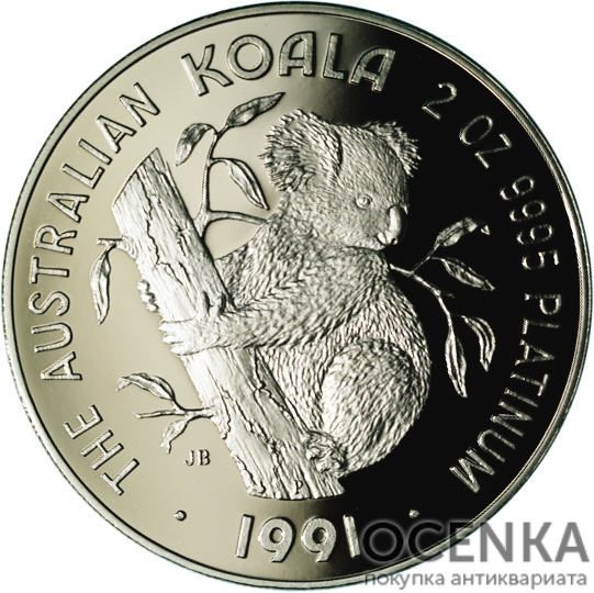 Платиновая монета 500 долларов Австралии - 1
