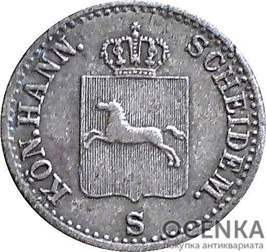 Серебряная монета 6 Пфеннигов (6 Pfennig) Германия - 5