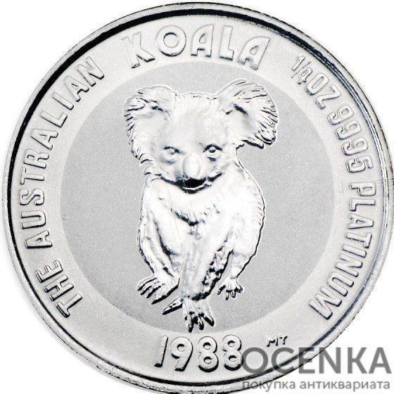 Платиновая монета 25 долларов Австралии - 1