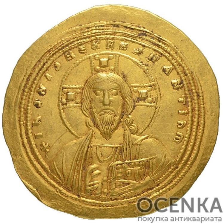 Золотой гистаменон Византии, Михаил IV Пафлагонский, 1034-1041 год