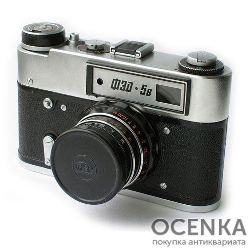 Фотоаппарат ФЭД-5В без экспонометра 1975-1991 год