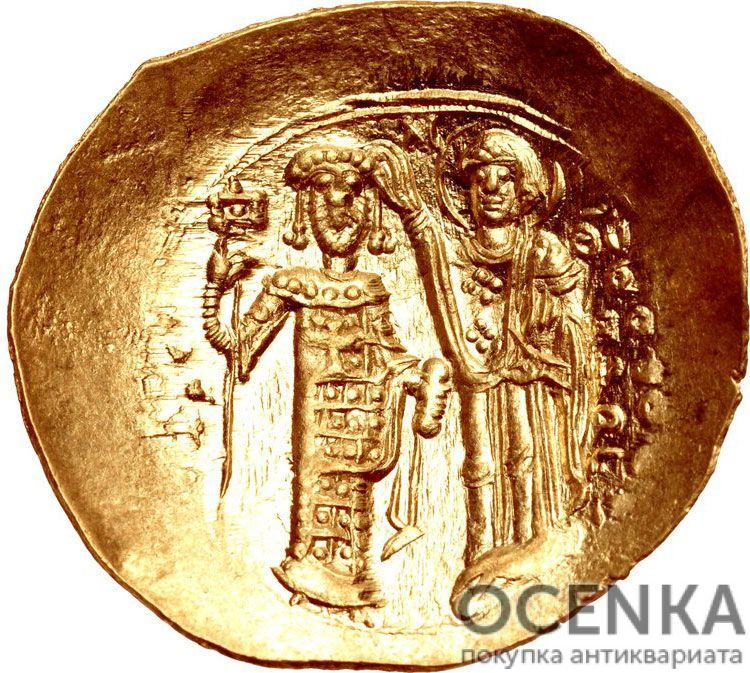 Золотой иперпир Византии, Иоанн III Дука Ватац, 1222-1254 год - 1