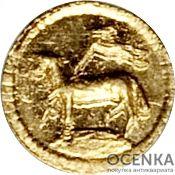 Золотая монета 1/32 Дуката Германия - 2