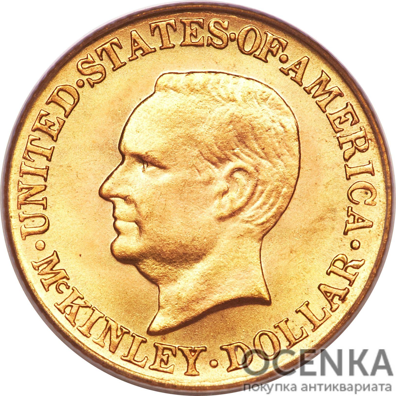 Золотая монета 1 Dollar (доллар) США - 11