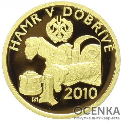 Золотая монета 2500 Крон (2500 Korun) Чехия - 1