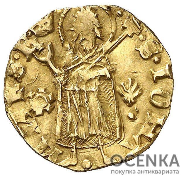 Золотая монета ½ Флорина (½ Florin) Испания - 7