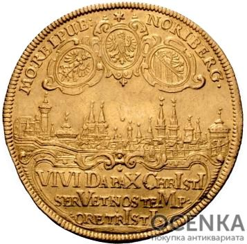 Золотая монета 8 Дукатов Германия