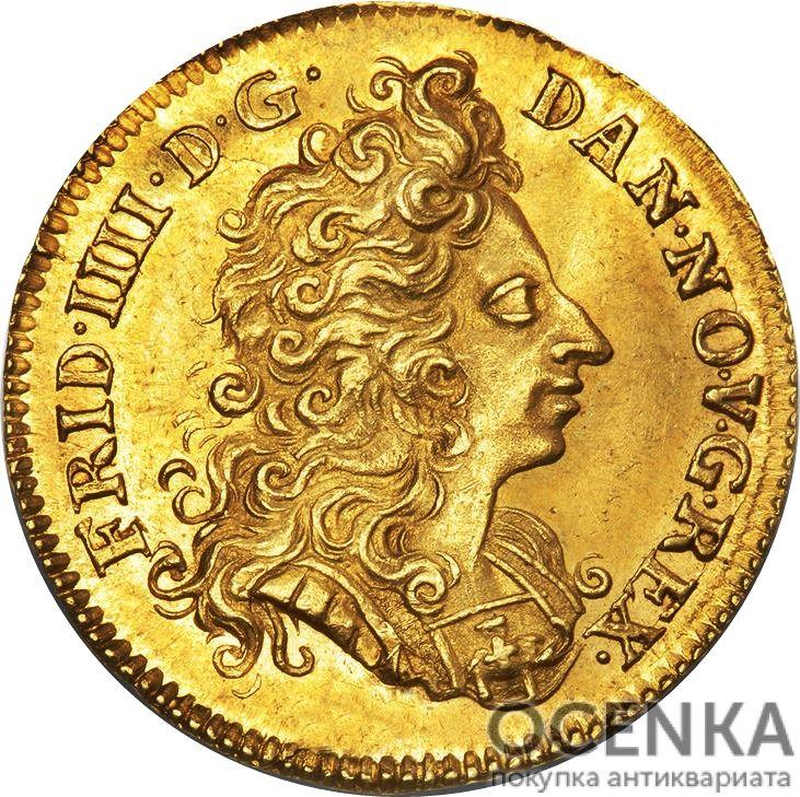 Золотая монета 1 Дукат (1 Ducat) Дания - 7