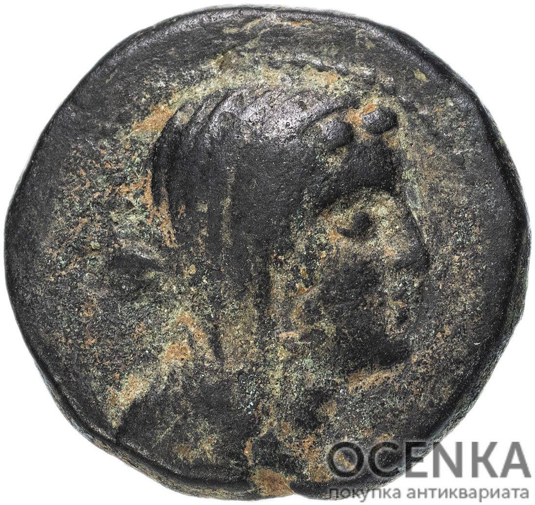 Медная монета Халк Древней Греции