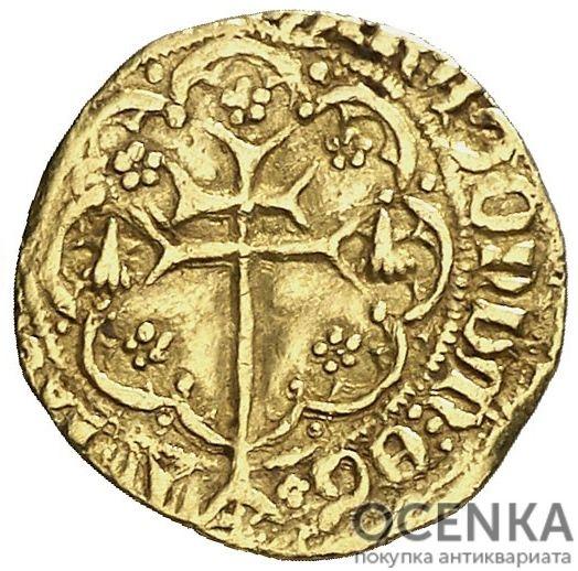 Золотая монета ¼ Реала (¼ Real) Испания - 2