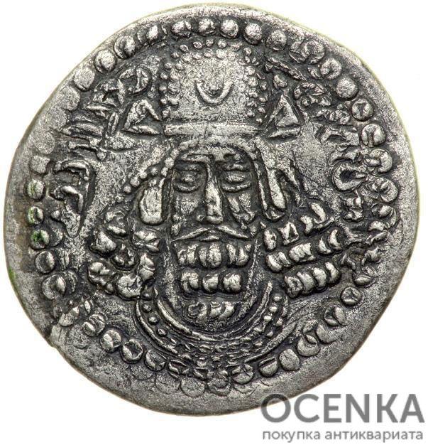 Серебряная монета Гемидрахма Древней Греции