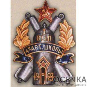 4-я артиллерийская школа. I-й выпуск. 1923 г.