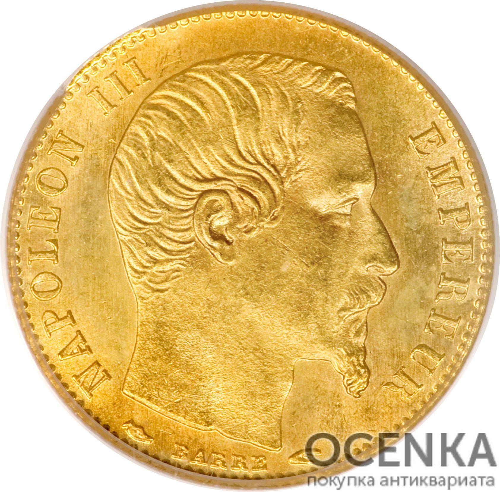 Золотая монета 5 Франков (5 Francs) Франция - 3