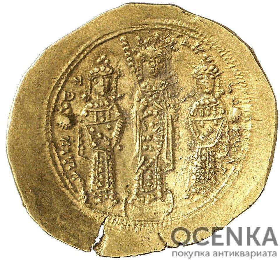 Золотой гистаменон Византии, Императрица Евдокия, 1067 год - 1