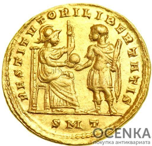 Золотой солид, Флавий Валерий Аврелий Константин, 307-337 год - 1