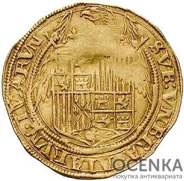 Золотая монета 2 Экскеленца (2 Excelentes) Испания - 1