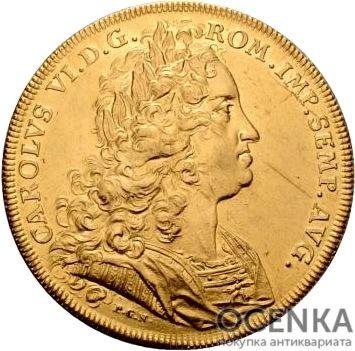 Золотая монета 8 Дукатов Германия - 3