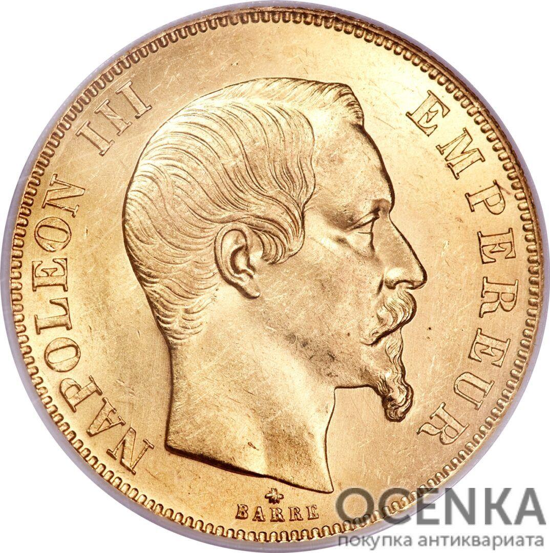 Золотая монета 50 Франков (50 Francs) Франция - 1