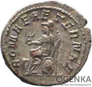 Серебряный Антониниан Цезаря Марка Юлия Филиппа Августа, 244-249 год - 1
