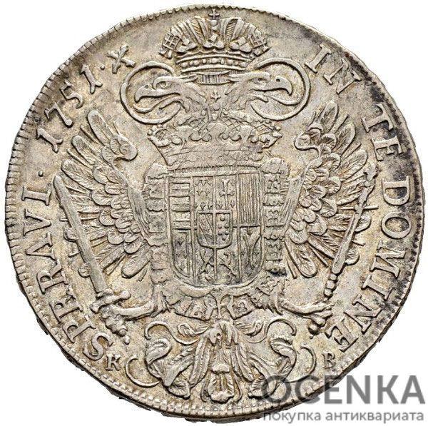 Серебряная монета Талер Средневековой Польши - 6