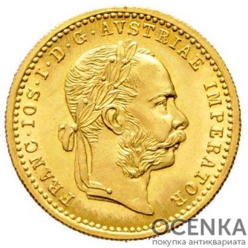 Золотая монета 1 дукат Австро-Венгрии - 9