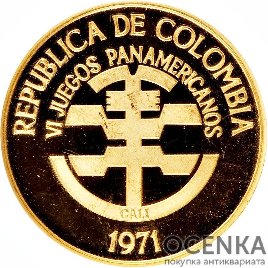 Золотая монета 200 Песо (200 Pesos) Колумбия - 5