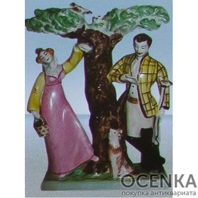 Статуэтка «Барышня-крестьянка» (А. С. Пушкин)