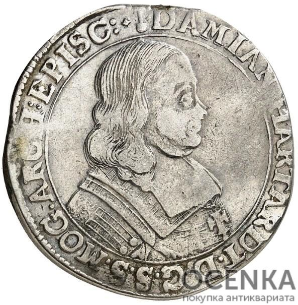 Серебряная монета 60 Крейцеров (60 Kreuzer) Германия - 3