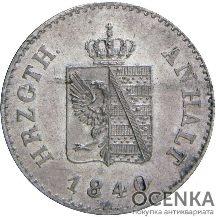 Серебряная монета 6 Пфеннигов (6 Pfennig) Германия - 1