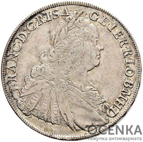 Серебряная монета Талер Средневековой Польши - 7
