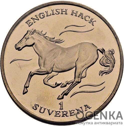 Золотая монета 1 Суверен (1 Suveren) Босния и Герцеговина
