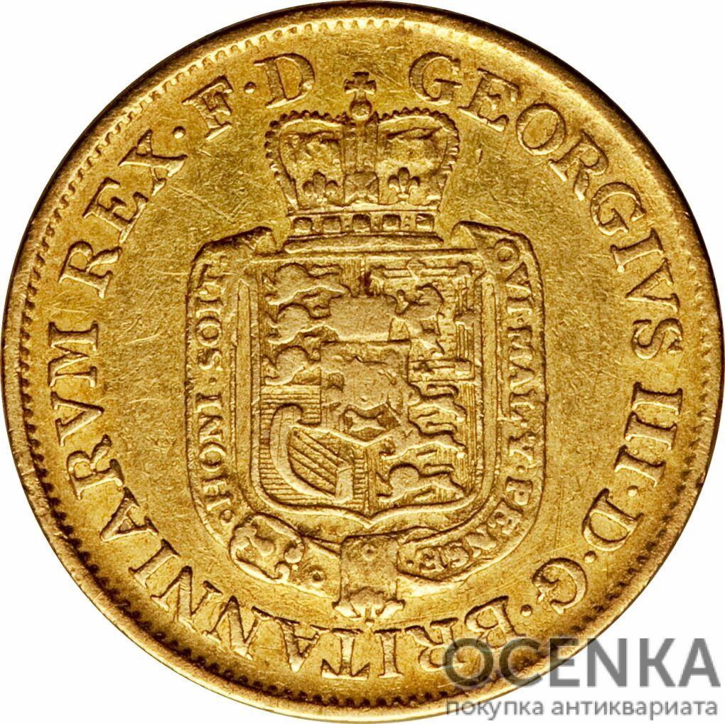 Золотая монета 5 Талеров Германия - 3